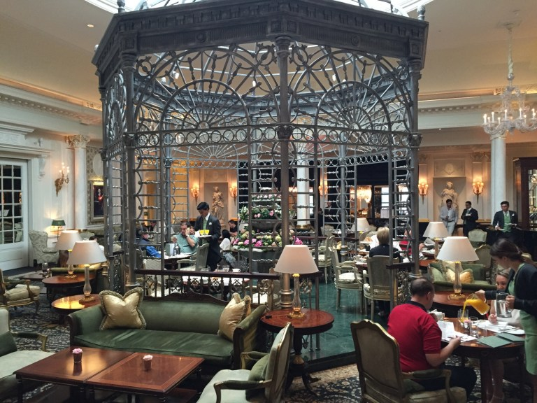 The Savoy Hotel Atrium