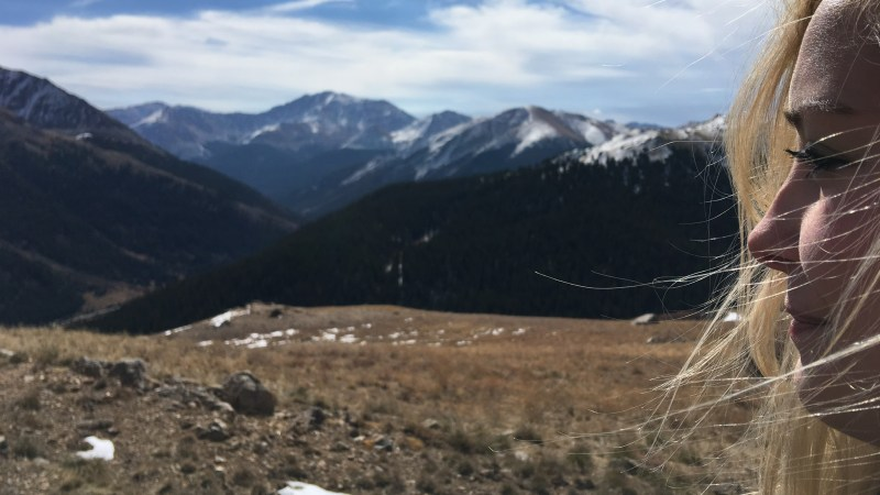 Snow on The Continental Divide
