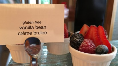 Creme Brûlée at the Four Seasons