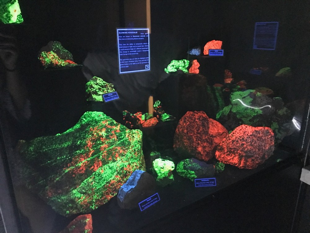 Minerals on Display