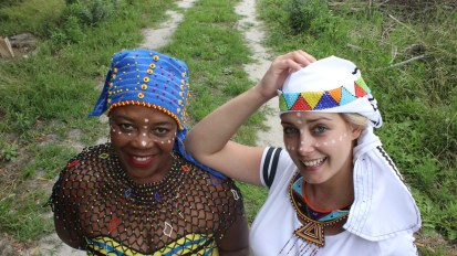 Dress up in Africa