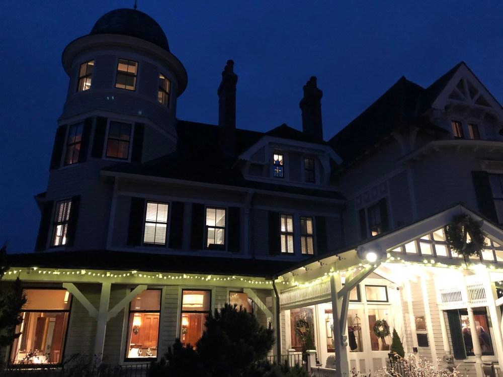 Castle Hill Inn at Night Newport