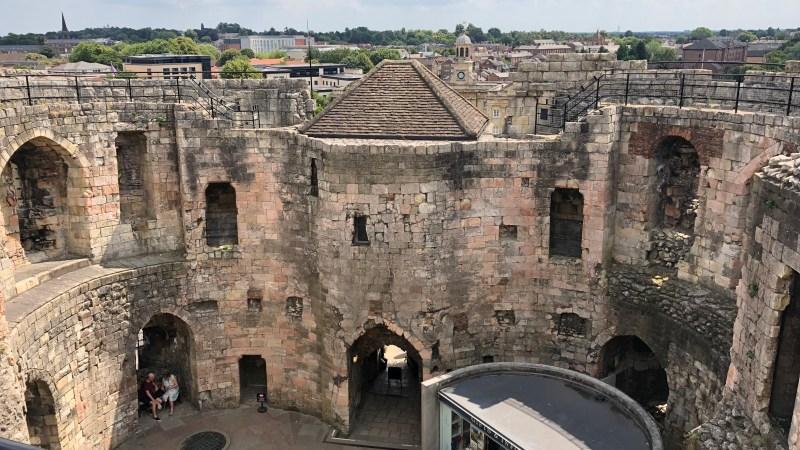 A Peek Inside A Norman Castle!