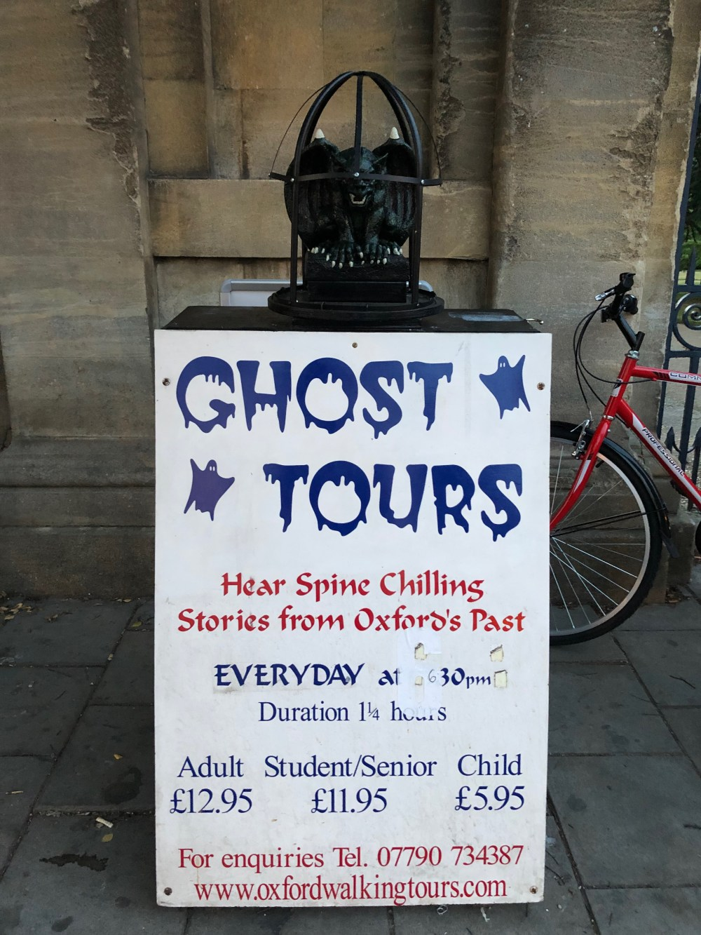 Ghost Tours Oxford