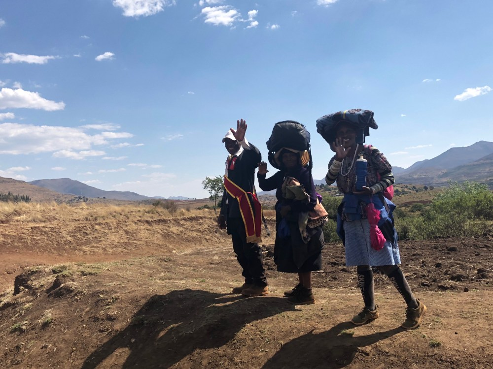 Lesotho South Africa Kingdom in the Sky