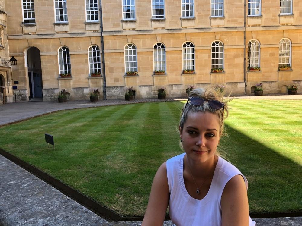 Enjoying Oxford College Gardens