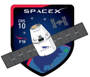 SpaceX's CRS-10 Patch