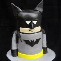 I love you cake man (aka Batman)