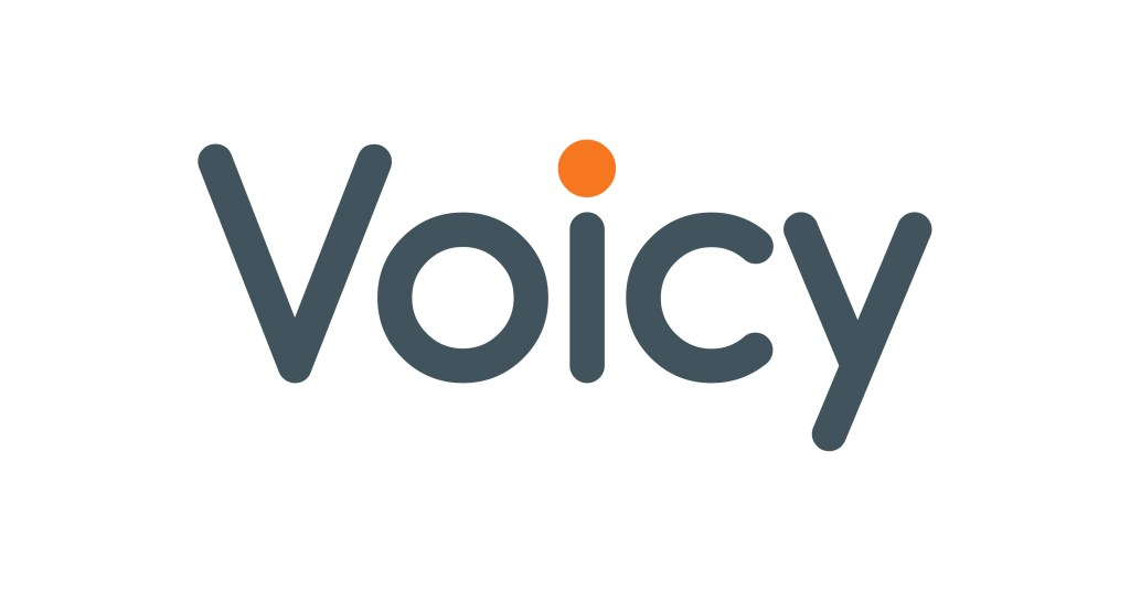 Voicy文字ロゴ