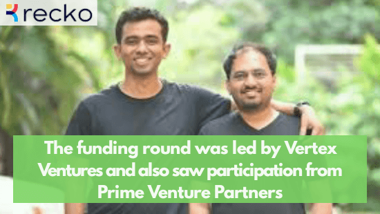 Recko Raises $6 Million In Series A Funding Round Led By Vertex Ventures