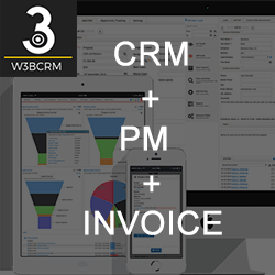 3bcrm - CRM + PM + Online Invoicing