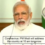 Coronavirus Lockdown Extension in India_ PM Modi will address nation tomorrow -
