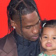 Stormi Webster, 2, Hops On Top Of Dad Travis Scott's Bright Yellow Taxi Cab In Cute New Pic
