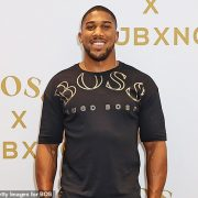 Anthony Joshua hit back at reports he has been seen spending time with Riyad Mahrez
