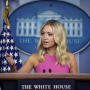 White House press secretary Kayleigh McEnany said President Donald Trump
