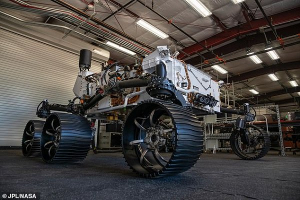 Meet Optimism! NASA tests drives Perseverance's twin on ...