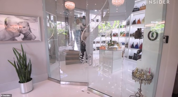 Roemer opened up her closet again in a video for Insider last year, where she showed off a number of expensive items including jewelry, handbags and limited edition shoes