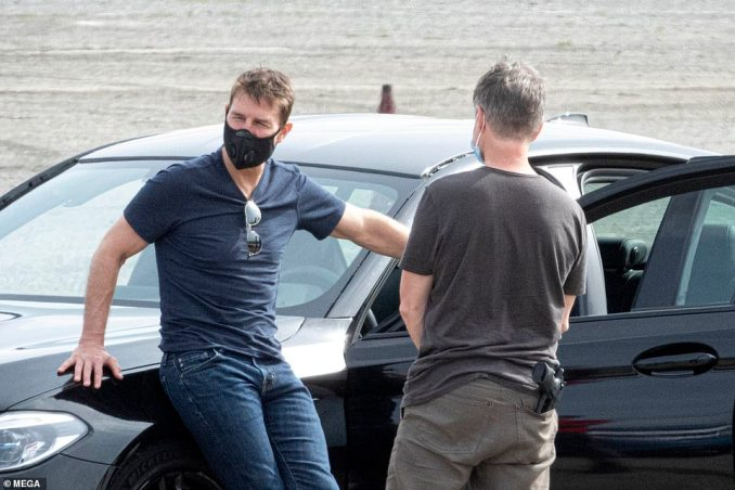 Highly-anticipated:Tom has revealed how 'excited' he was to start shooting the latest instalment of the franchise in a phone call with Norway's Minister of Culture Abid Raja earlier this summer