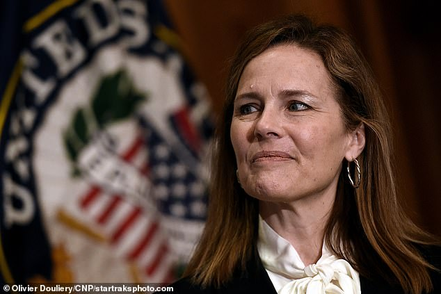 Biden spoke about Judge Amy Coney Barrett and predicted she would vote to overturn Roe v. Wade. The White House event where Trump announced her nomination featured a raft of guests who later tested positive for the coronavirus, raising the possibility it was a super spreader event