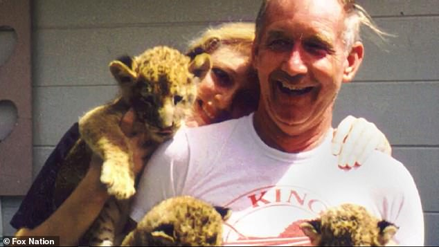 Don Lewis was last seen August 18, 1997, a day before a scheduled trip to Costa Rica. He's pictured with wife Carole and their cubs