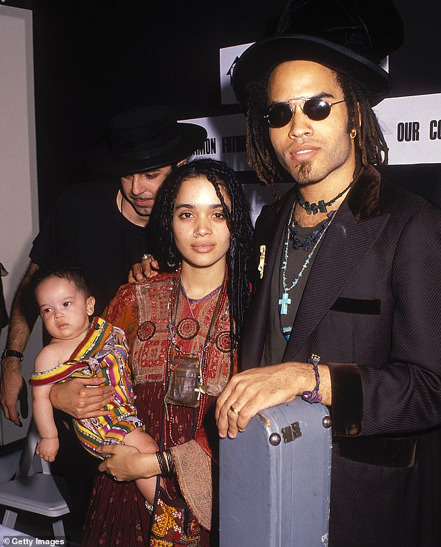 Kravitz writes how he replicated his father's behavior by breaking off an engagement to marry his ex-wife Lisa Bonet. His six year marriage to her ended in 1993 amid rumors of infidelity