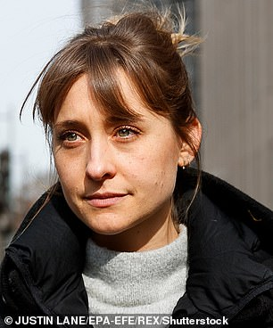 Actress Allison Mack is also in prison. Oxenberg says she recruited her to the sub-sect of the cult in which she was sexually abused