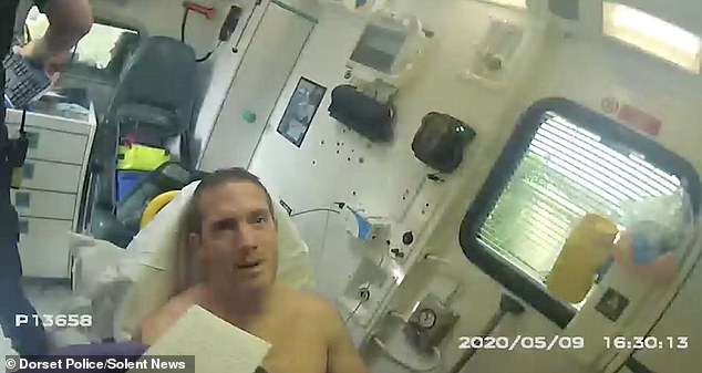 Jurors at Salisbury Crown Court in Wiltshire were shown a video, filmed by a police officer's body-worn camera, which showed an inconsolable Brehmer crying as he was asked about what happened