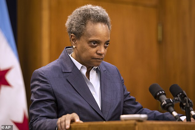 Mayor Lori Lightfoot accused Johnson of deliberately 'misleading' her, the city and the police department when he made the claims in October