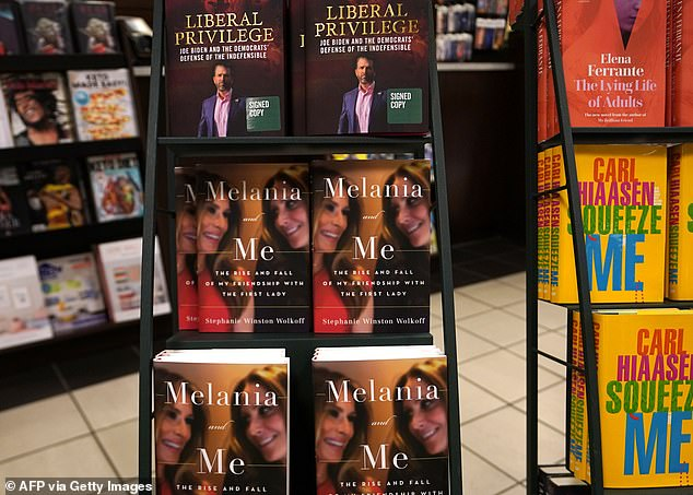 Wolkoff also said'The Department of Justice has turned into the Trump's own police force, unfortunately,' as she faces being sued for allegedly breaking an NDA to write her book Melania and Me