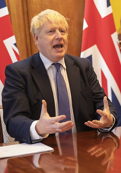 Prime Minister Boris Johnson (pictured) is set to put Greater Manchester on the Government's Tier 3 list with or without Andy Burnham's go-ahead - even though the mayor threatened legal action if it was imposed