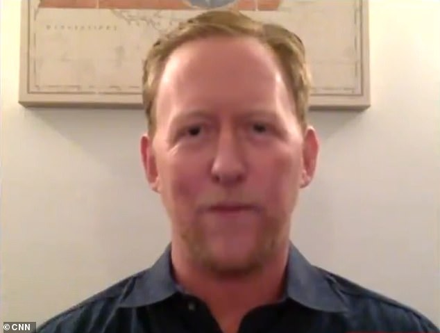 The former Navy SEAL famed for shooting dead bin Laden, Robert O'Neill (pictured), hit out at the QAnon theory.O'Neill was the person to shoot bin Laden three times in the head during a top-secret May 2011 raid on his hideout in Abbottabad, Pakistan