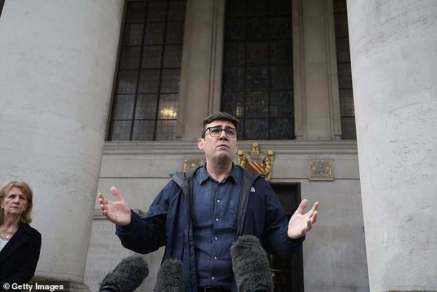 Andy Burnham had been dubbed 'The King in the North' for his stance against Westminster