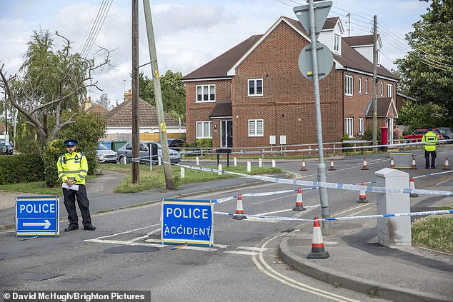 Sussex Police were called to a residential street in Burgess Hill, West Sussex, after reports a road rage row had broken out between two drivers at around 12.15pm on August 24