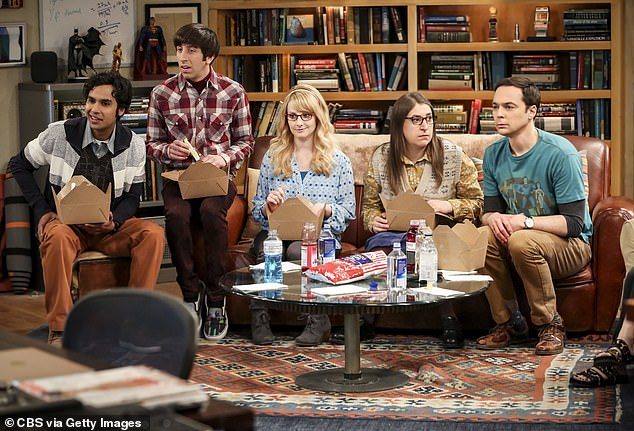 Roth is best known for overseeing the development of several hit shows including The West Wing and The Big Bang Theory (pictured)