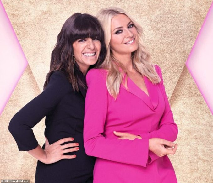 Dancing queen: Claudia Winkleman and Tess Daly will be back on hosting duties alongside judges Motsi Mabuse, Shirley Ballas and Craig Revel-Horwood