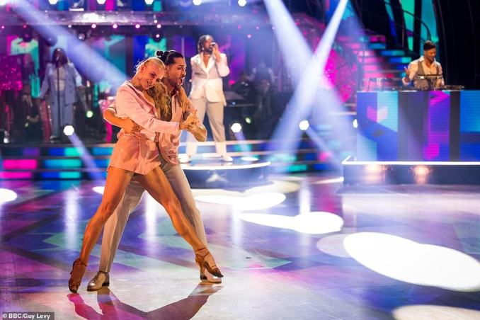 Rules: This year's Strictly has seen the introduction of strict new guidelines, including regular testing and restrictions on celebrities and pros mixing