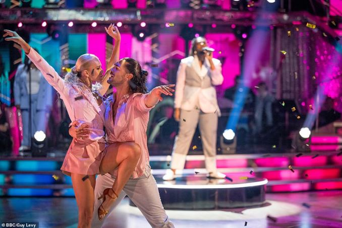 Gorgeous: The launch will also see the pros take to the stage with a stellar group opener, withNadiya Bychkova and Graziano Di Prima forming their own bubble to dance alongside singers and guest performers