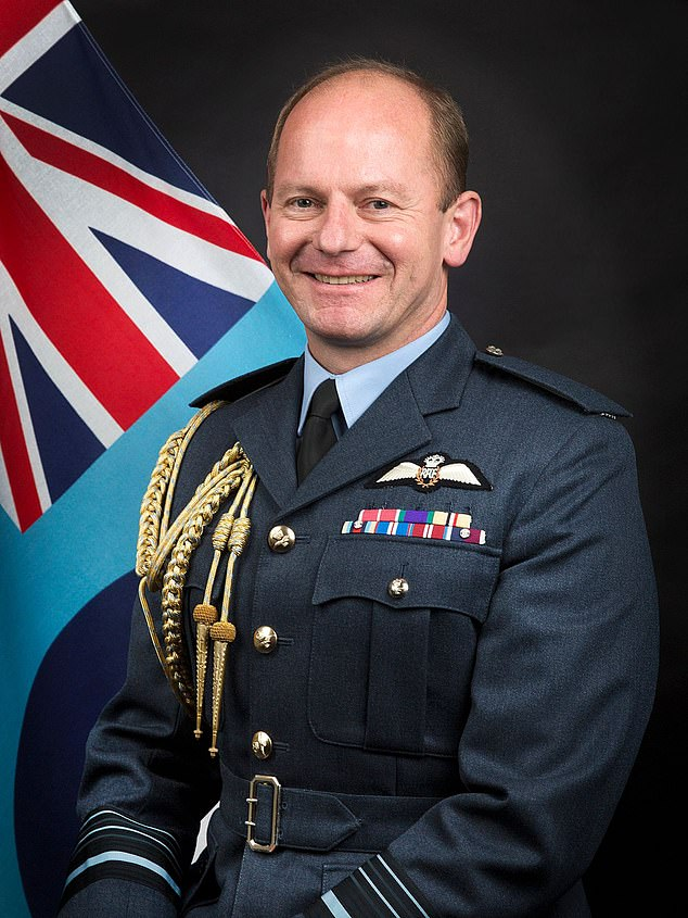 Air chief marshal Mike Wigston (above) is behind the latest policy and was also thought to be responsible forallowing its airmen to grow beards