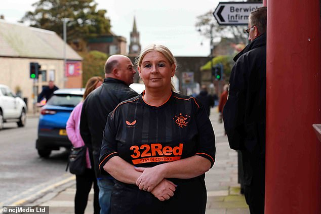 Margaret Straughan, licensee of the Brewers Arms, said during the week she had fielded 'hundreds' of calls from supporters eager to catch the action and had chosen not to show the match