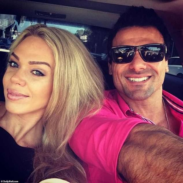 Divorced:Loni was married to actor Jeremy Jackson from 2012 until their tumultuous divorce in 2014. She once accused the actor of trying to strangle her in a violent rage; Loni and Jeremy pictured