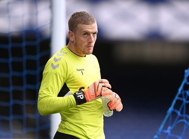 The Everton stopper was fortunate to escape without a card