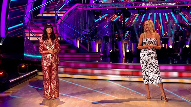 Strictly Come Dancing presenters Claugia Winkleman and Tess Daly fronted the pandemic-edition of the show which will see fewer episodes and no special show at Blackpool this year