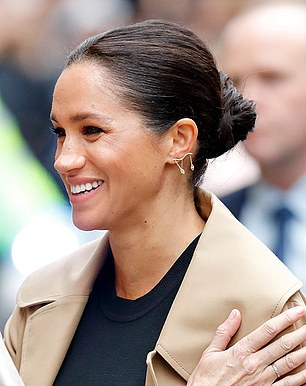 In January, she wore a £459 pair of earrings by Kimai, a London brand that specialises in lab-grown diamonds to avoid the controversies linked to diamond mining.