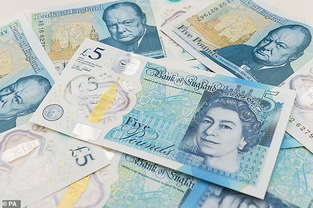 Actually, with the introduction of polymer banknotes replacing the paper ones, physical storage is a much more attractive proposition.But that would have the effect of taking money out of circulation ¿ the opposite of the Bank of England¿s intention (stock photo)