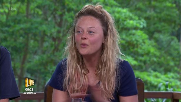 An emotional Emily Atack on I'm a Celebrity... Get Me Out of Here!
