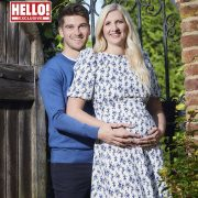 Rebecca Adlington reveals she and beau Andrew Parsons are having a boy