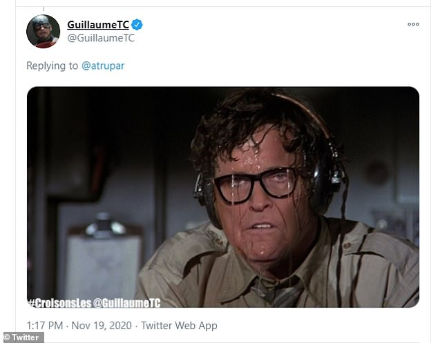 Giuliani's face was super imposed onto some scenes from other movies also
