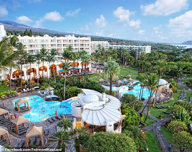 A total of 75 people are in attendance at the conference hosted by the Independent Voter Project (IVP) at the Fairmont Kea Lani Hotel (pictured) in Wailea, Maui