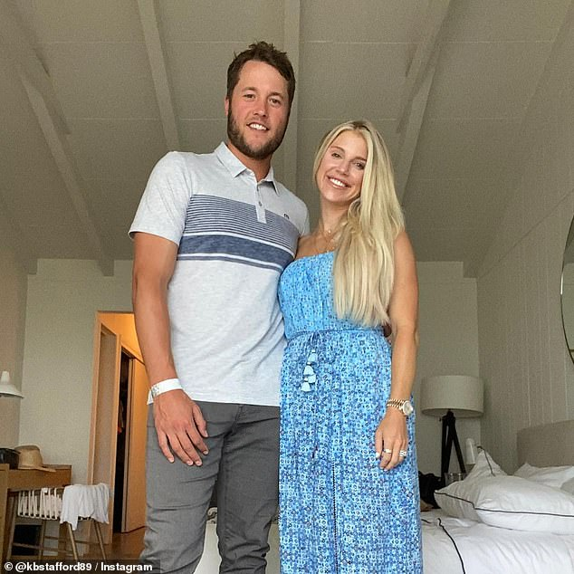 The Atlanta native - married to Detroit Lions quarterback Matthew Stafford - advocated for small businesses, asserting that 'shutting them down again is not the answer' as 'they will not make it.'