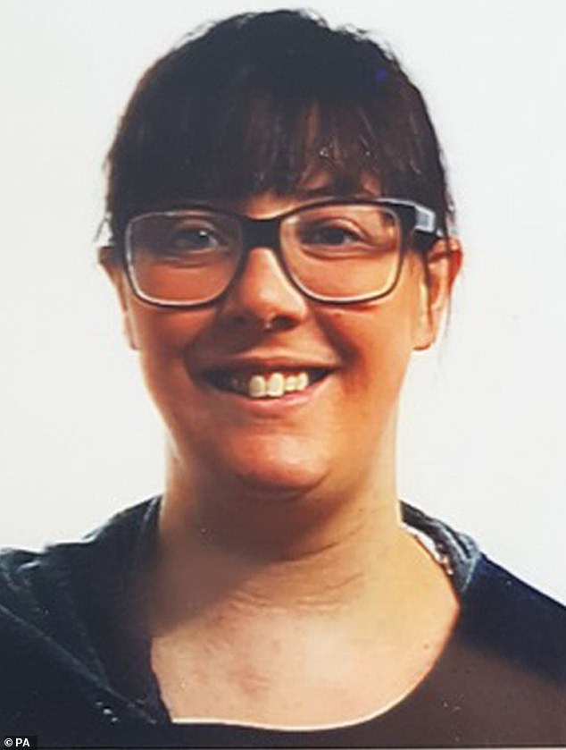 A handout photo issued by North Yorkshire Police of Miss Harker, who left her parents' home in Colburn before dawn and never arrived at work on October 9 last year
